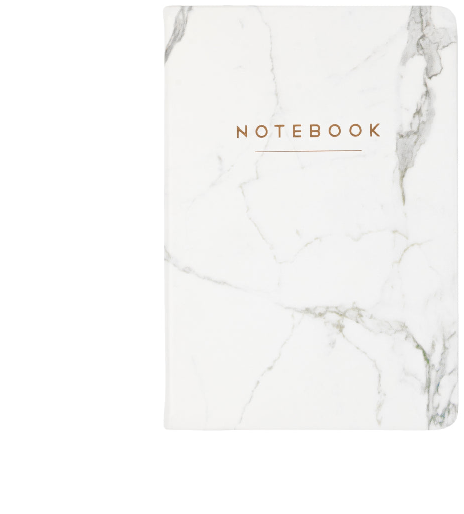 White Marble Journal 6x8 - Christina Greene LLC