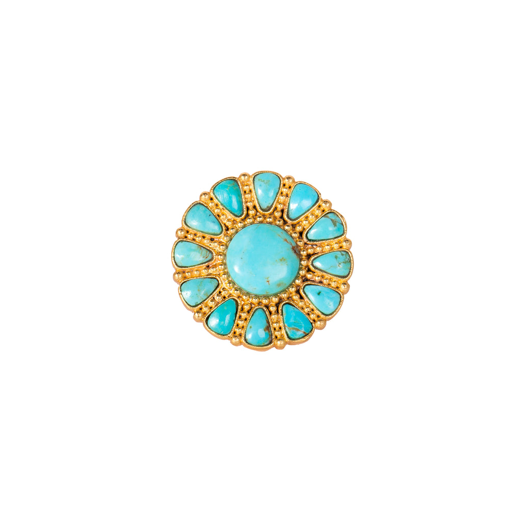 Wild Flower Ring - Christina Greene LLC
