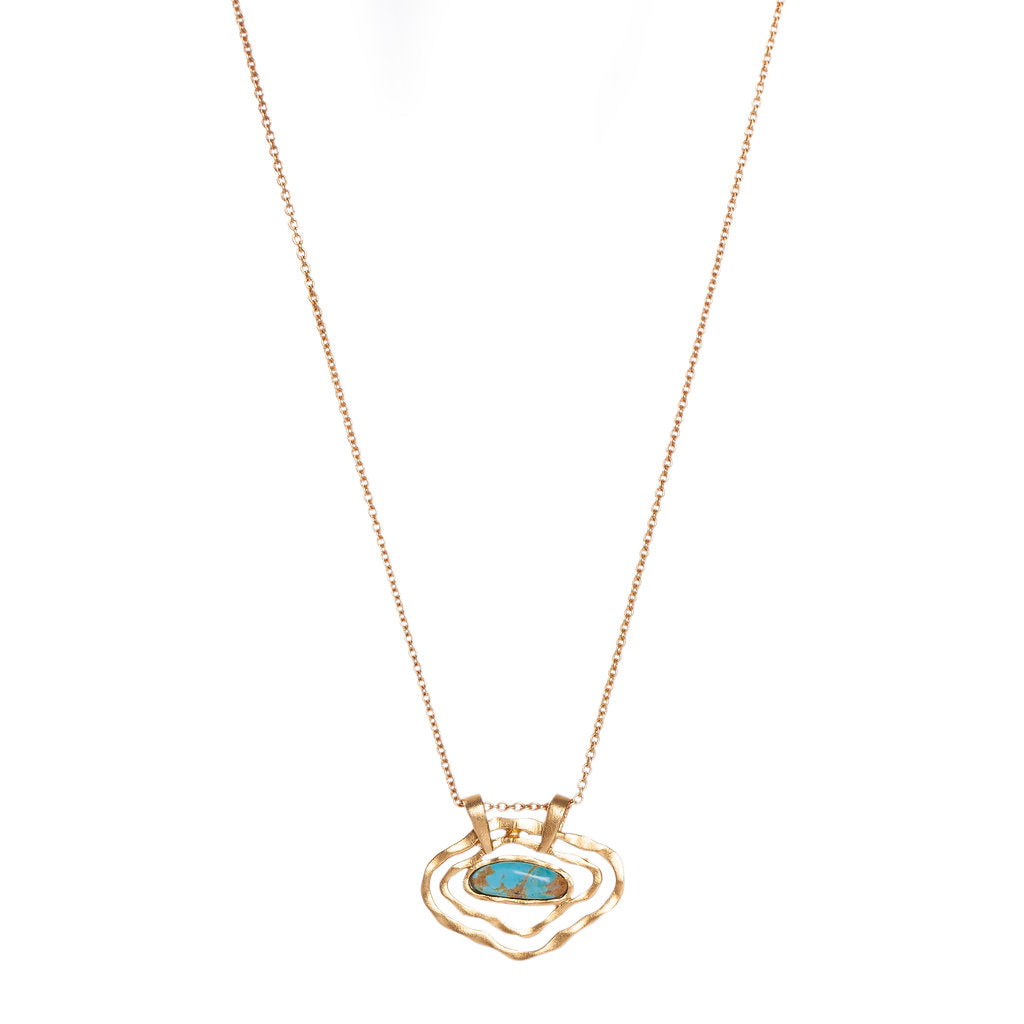 Deco Impression Necklace - Christina Greene LLC