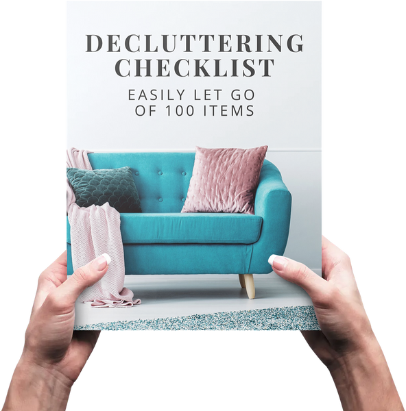 100 Items Challenge Tracker and Decluttering Checklist