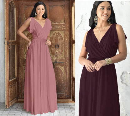 Beautiful Bridesmaid Maxi Dress
