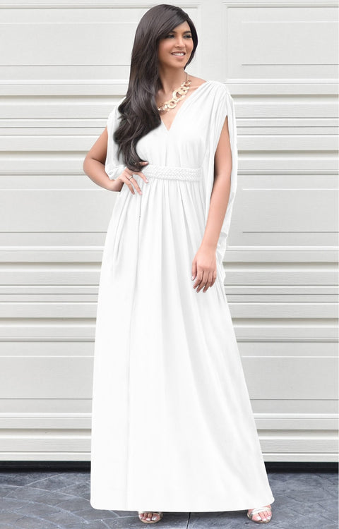 SHELBY - Sleeveless Long Comfortable Maxi Dress Vacation Evening Sun