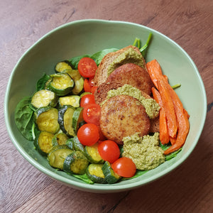 Convie Bowl HAMBURGER SALMONE