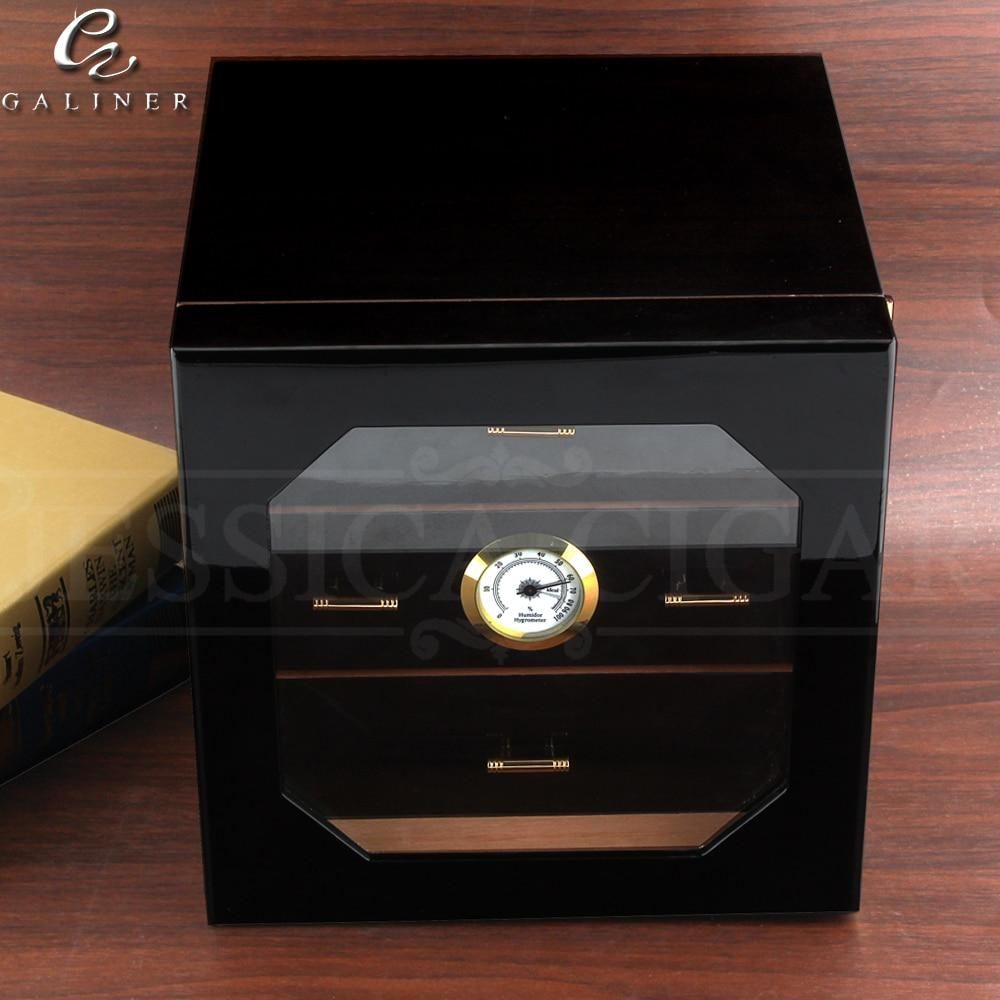 Humidor Cabinet - Cigar Humidifier Humidor Box with Cedar Wood - My Joy Hub