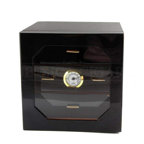 Image of Humidor Cabinet - Cigar Humidifier Humidor Box with Cedar Wood - My Joy Hub