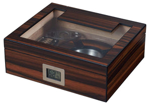 Humidor Cigar Humidifier Gift Set with Cutter and Ashtray