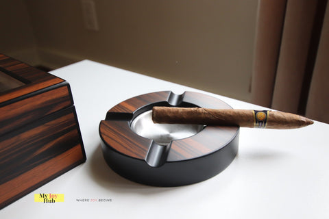 Humidor Cigar Humidifier Gift Set with Cutter and Ashtray - My Joy Hub
