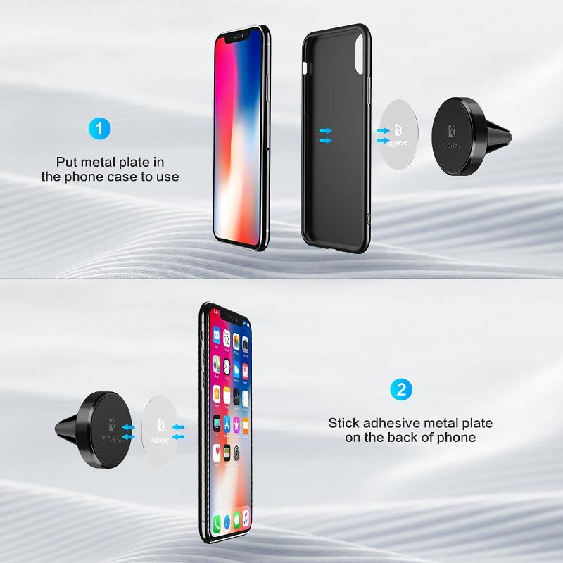 Universal 360 Magnetic Air Vent Mount Car Phone Holder - My Joy Hub