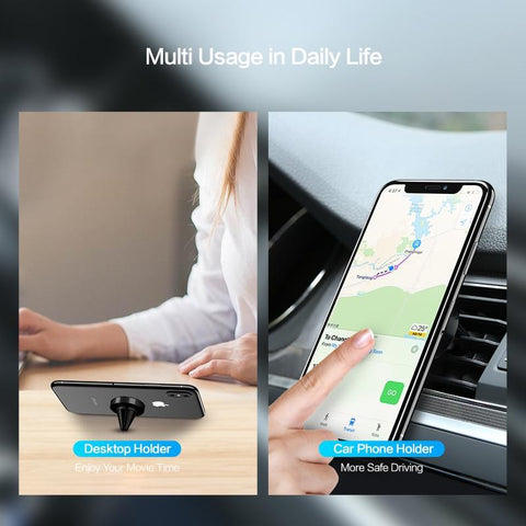 Image of Universal 360 Magnetic Air Vent Mount Car Phone Holder - My Joy Hub