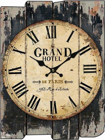 Image of Gorgeous Wooden Wall Clock - My Joy Hub