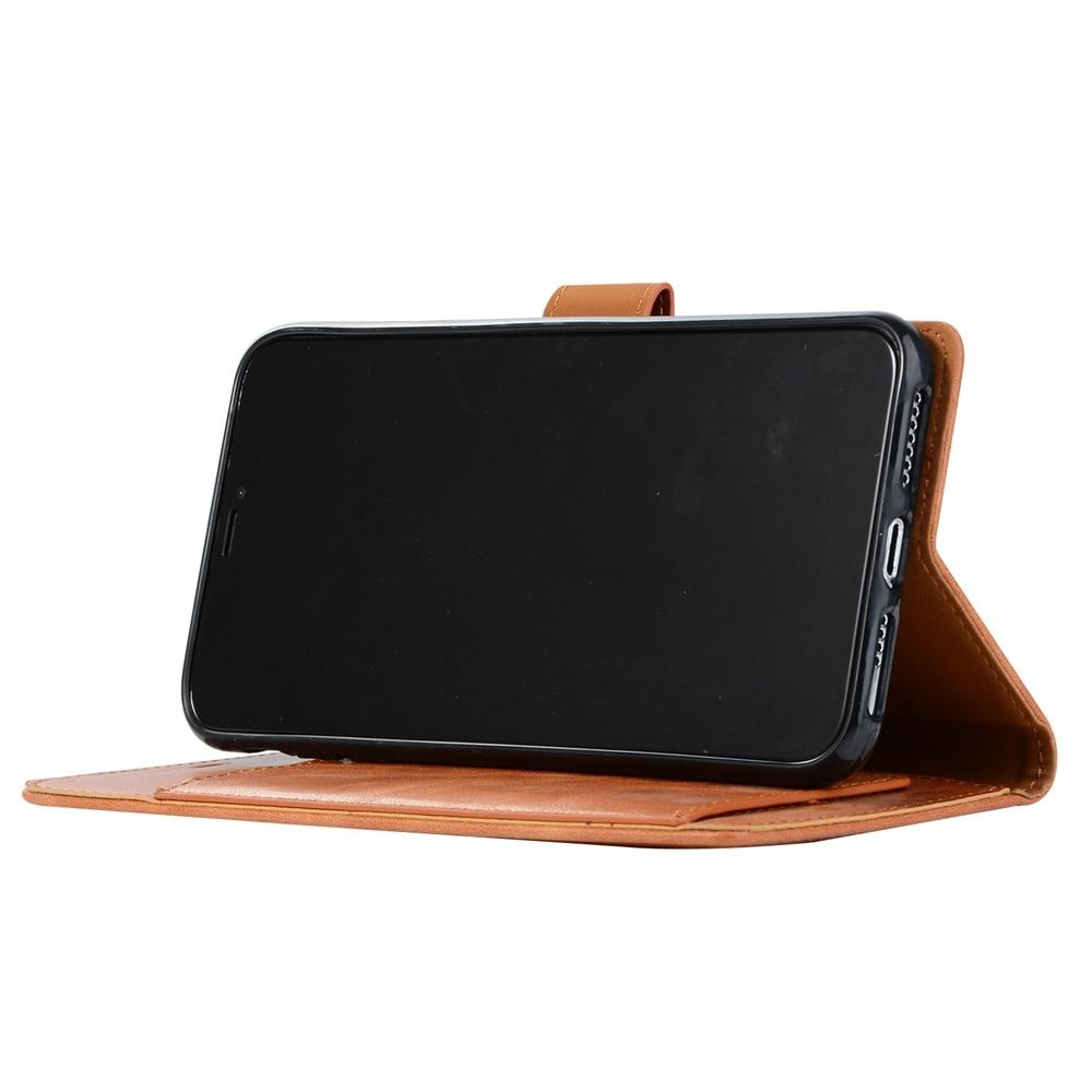 Flip Leather Wallet Case For iPhone 8 7 6S 6 X XR XS Max 5S SE Retro Card Holder Phone Cases - My Joy Hub