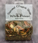 Witch Power Bath Herbs - Natural Magick Shop