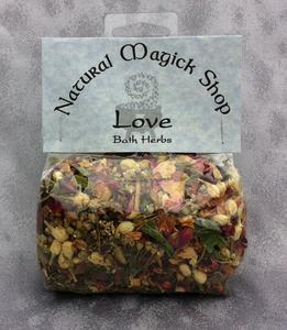 Love Bath Herbs - Natural Magick Shop