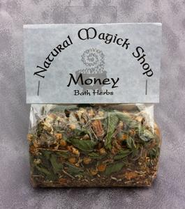 Money Bath Herbs - Natural Magick Shop