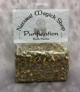 Purification Bath Herbs - Natural Magick Shop