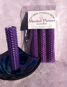 Mental Power Candles - Natural Magick Shop