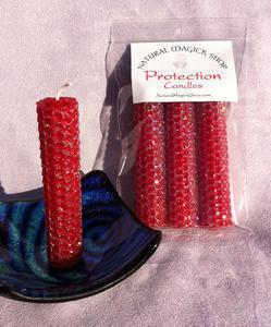 Protection Candles - Natural Magick Shop