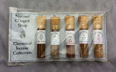 Elemental Incenses Set of Five - Natural Magick Shop