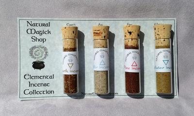 Elemental Incenses Set of Four - Natural Magick Shop