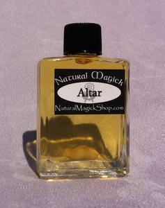 Altar oil - magic oil - Natural Magick Shop
