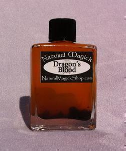 Dragon's Blood oil - Natural Magick Shop