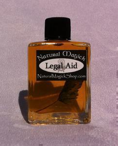 Legal Aid oil - Natural Magick Shop