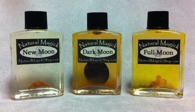 Moon Phases Oil Set - Natural Magick Shop