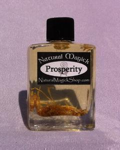 Prosperity oil - Natural Magick Shop