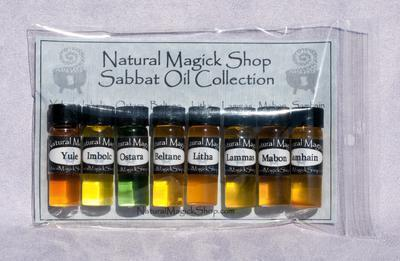 Sabbat Oils Set of Eight - Natural Magick Shop