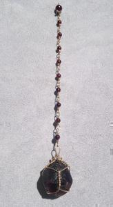 Garnet Pendulum - Natural Magick Shop