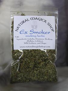 Ex-Smoker Smoking Blend - Natural Magick Shop