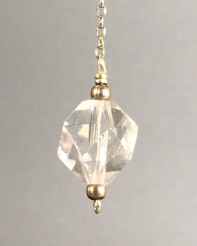 Quartz bead pendulum - Fall Equinox