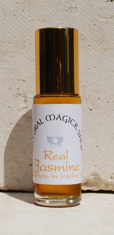 Jasmine, Real Jasmine Absolute, 10% in coconut oil (perfume) - Natural Magick Shop