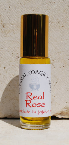Rose absolute, 10% in coconut oil