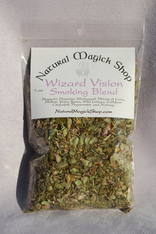 Wizard Vision Smoking Blend - Natural Magick Shop