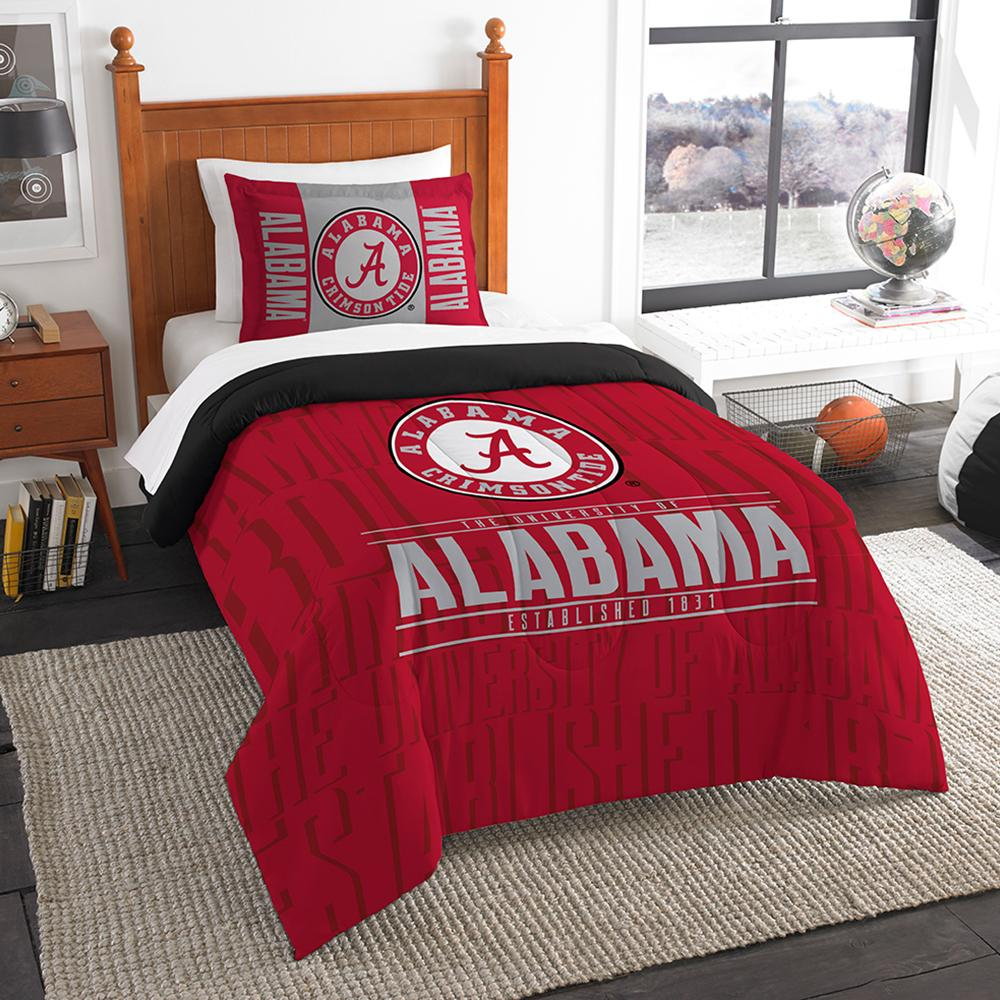 Wondrous Alabama Crimson Tide Ncaa Twin Comforter Set 64 X 86 Ibusinesslaw Wood Chair Design Ideas Ibusinesslaworg