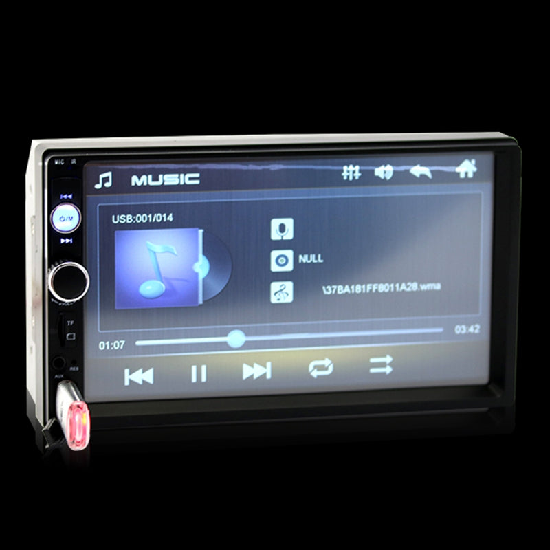 7010B 7-inch Touch Screen Display Car Player Support Bluetooth Calling  Function