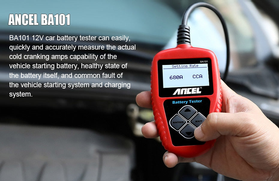 Digital Battery Tester Analyzer