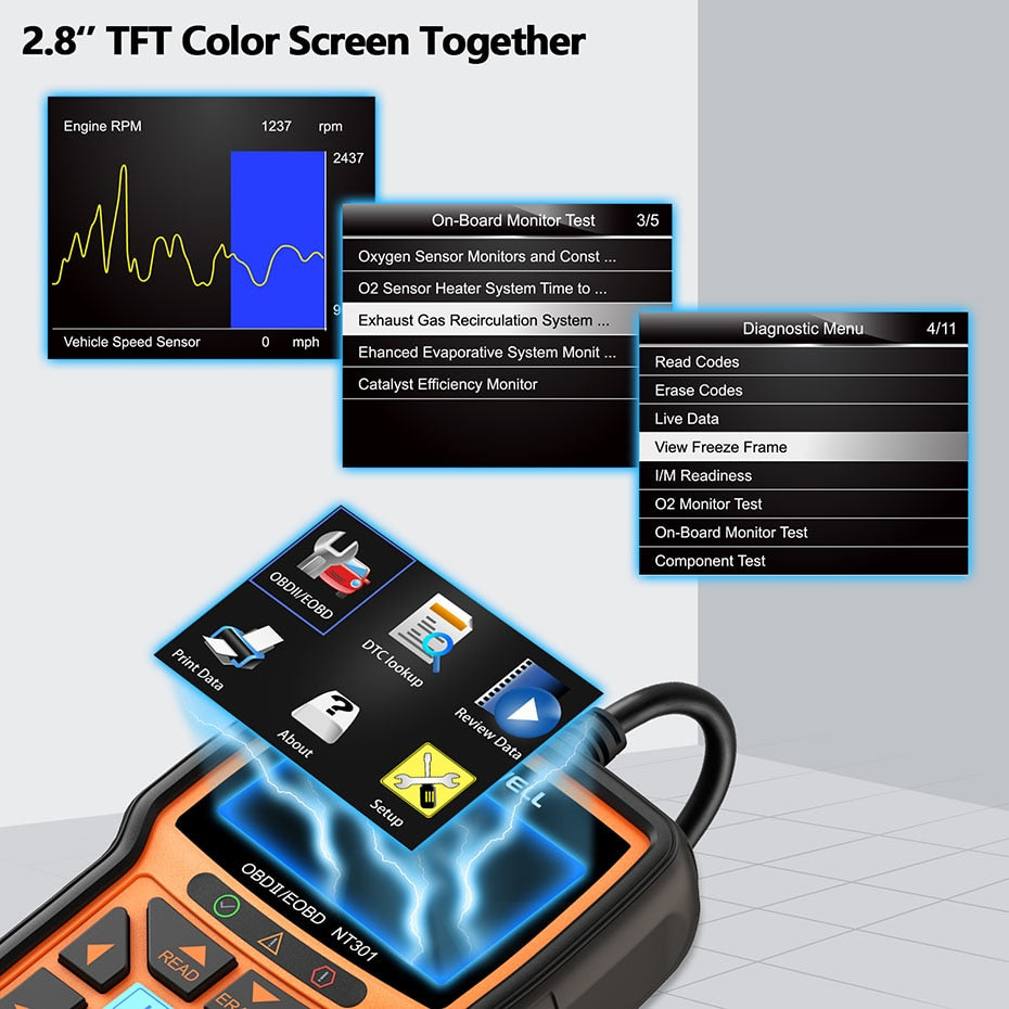 Car Engine Code Reader Diagnostic Scanner
