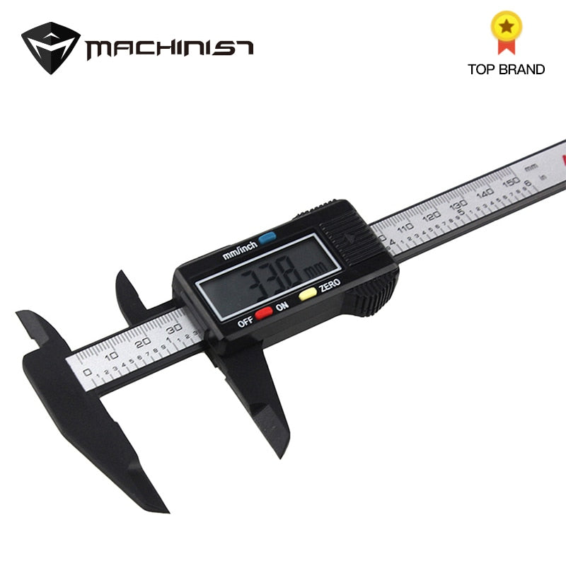 Digital Caliper 150mm Micrometer  With Screen Depth Gauge