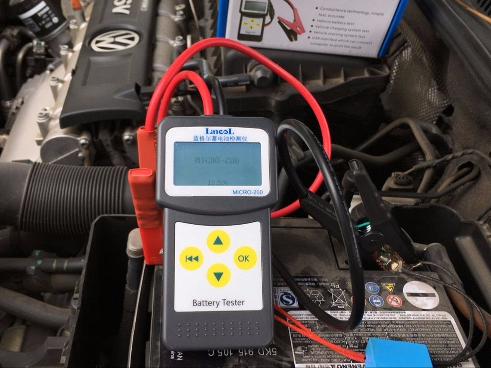 Lancol MICRO-200 Automotivo Battery Digital CCA Battery Analyzer