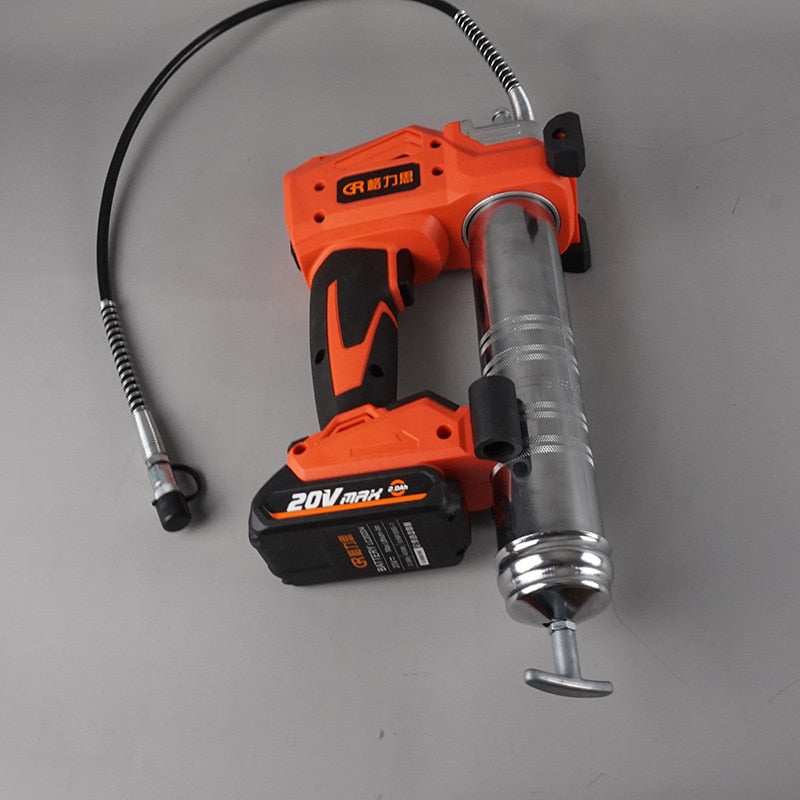 20V cordless electric grease gun w/ lithium battery