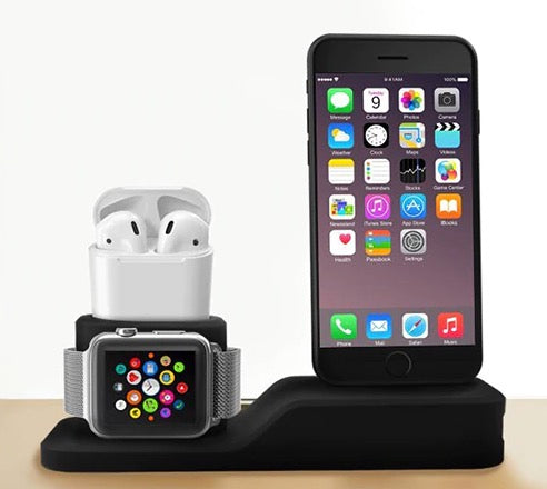 3 in 1 Charging Dock For Iphone, Apple watch and Airpods (Iphone X Iphone 8 Iphone 7 Iphone 6)