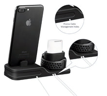Load image into Gallery viewer, 3 in 1 Charging Dock For Iphone, Apple watch and Airpods (Iphone X Iphone 8 Iphone 7 Iphone 6)