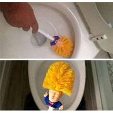 "Load image into Gallery viewer, Donald Trump Toilet Brush ""Make Your Toilet Great Again"""
