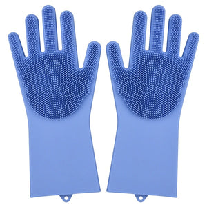 Eco-Friendly Magic Silicone  Gloves (NO SPONGE NEEDED!)
