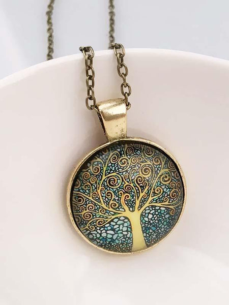 Vintage The Tree of Life Necklaces Accessories