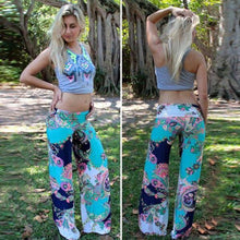 Load image into Gallery viewer, New Ladies Printed Casual Straight-leg Pants