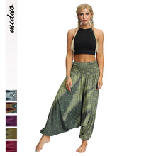 Load image into Gallery viewer, New Bohemian Digital Printing Women's Sports Fitness Yoga Pants