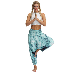 Tie-dye Gradient Women's Low Crotch Bloomers